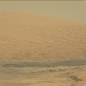 Mount Sharp (Aeolis Mons) within Gale Crater, Mars